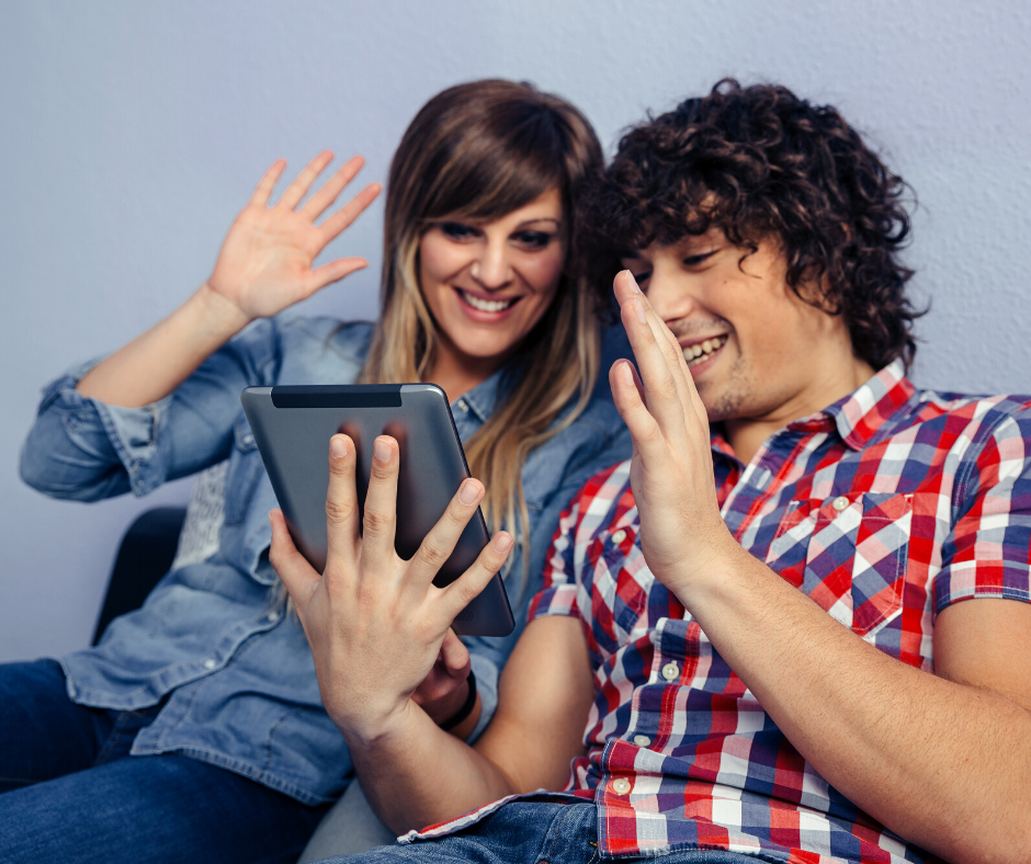fun things to do at home: Man and woman playing 'never have i ever' with fingers