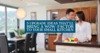 5 Upgrade Ideas That'll Bring a Wow-Factor to Your Small Kitchen