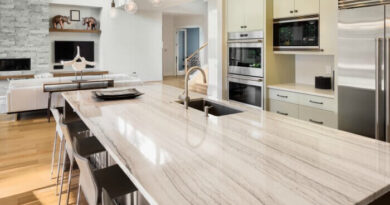 Top 5 Kitchen and Bathroom Countertop Options for 2021