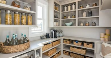 5 Unique Ideas For Your Walk-In Pantry Redesign Project
