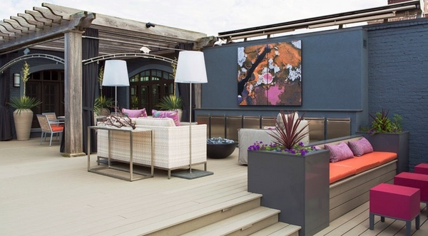 How to Design a Luxury Roof Terrace